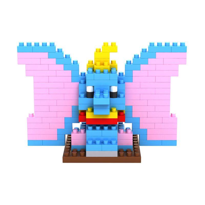 Loz Elephant Gift Medium 9171 Mainan Anak