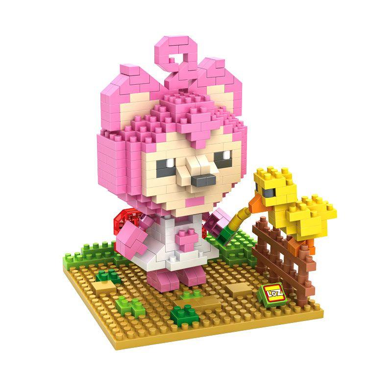 Loz Gift 9492 Pink Mainan Blok dan Puzzle