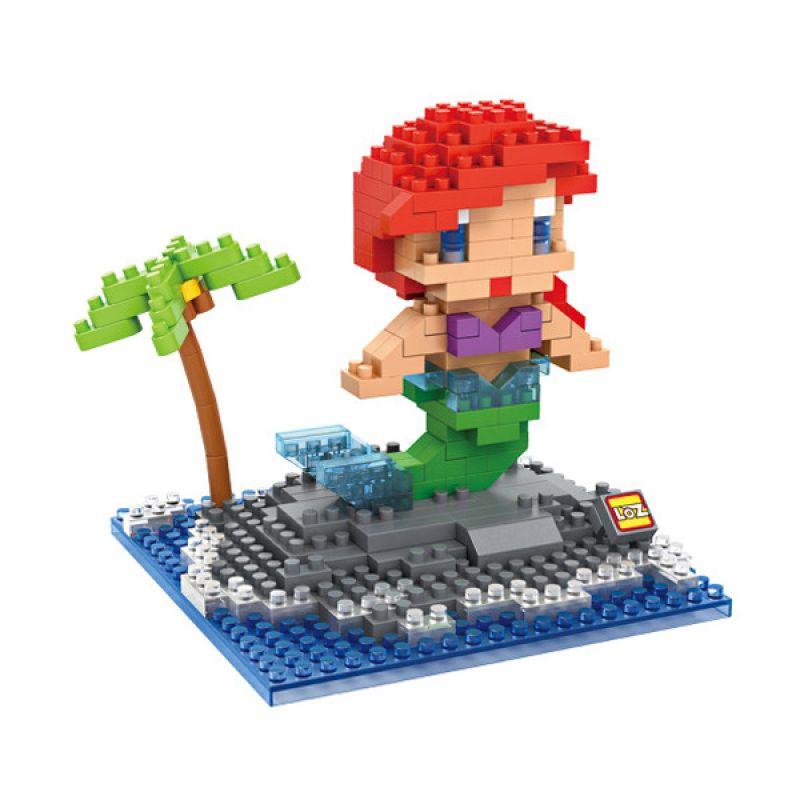 Loz Gift Ariel Mermaid 9499 Mainan Blok dan Puzzle [Large]