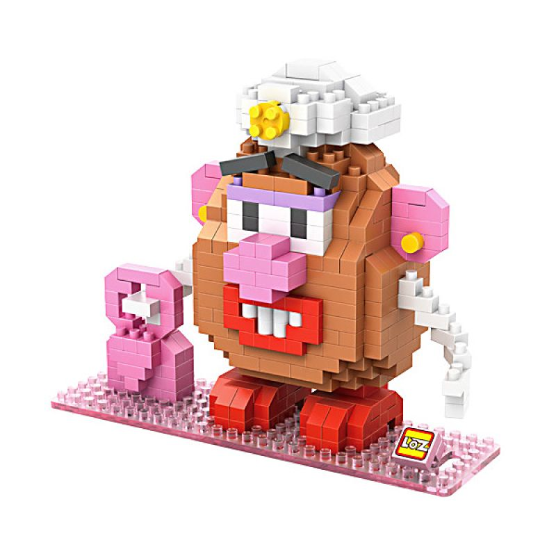Loz Gift Mrs Potato Head 9506 Mainan Blok dan Puzzle [Large]