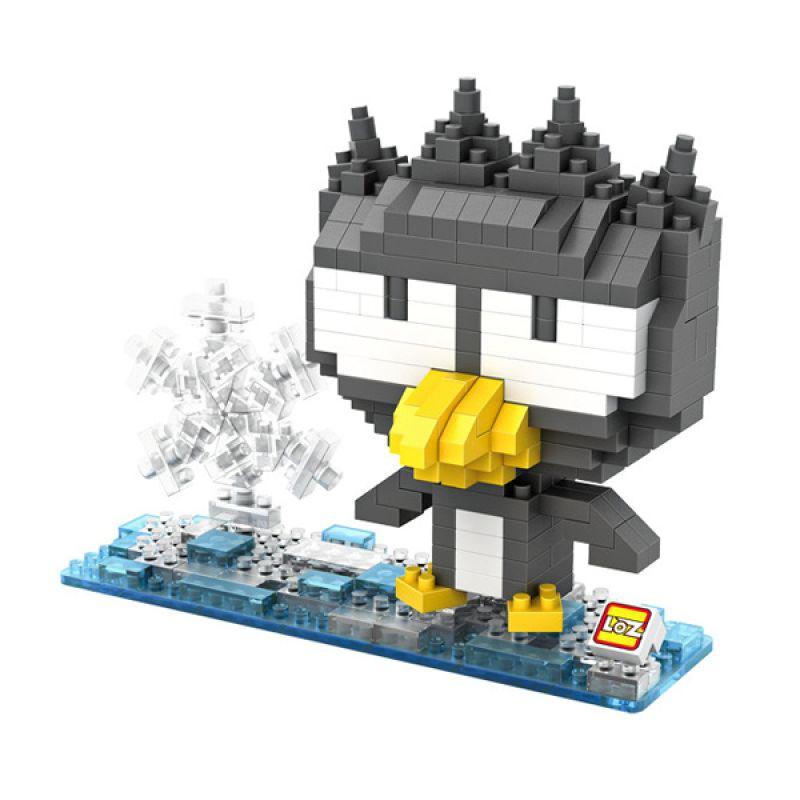 Loz Gift Pingu 9510 Mainan Blok dan Puzzle [Large]