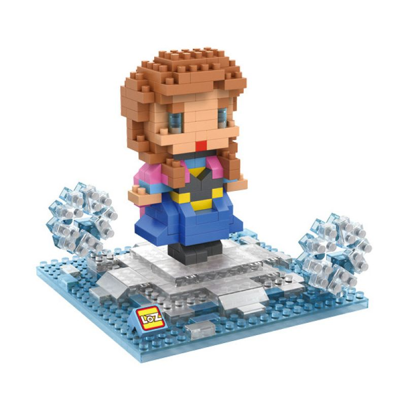 Loz Gift Girl 9498 Mainan Blok dan Puzzle [Large]