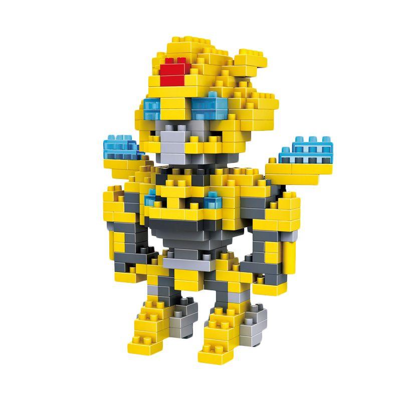 Loz Gift Yellow Robot 9401 Large Mainan Block