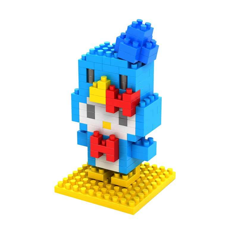 Loz Gift HK Blue Costume 9181 Mainan Blok dan Puzzle [Medium]