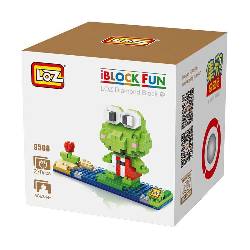 Loz Gift Frog 9508 Mainan Blok dan Puzzle [Large]