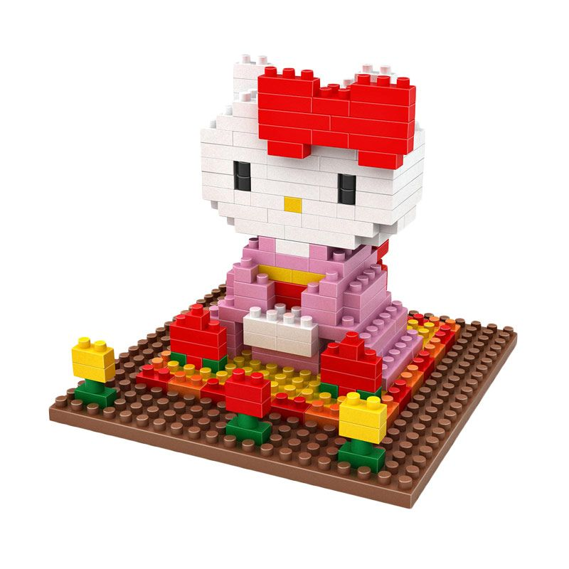 LOZ Gift Large 9408 Hello Kitty Mainan Blok & Puzzle