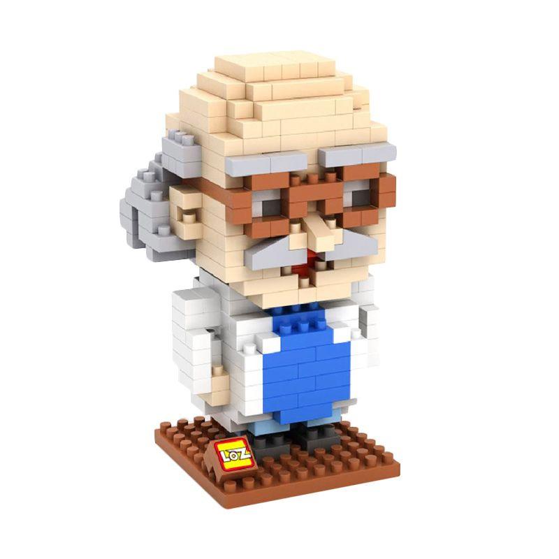 LOZ Gift Large 9442 Mainan Blok & Puzzle