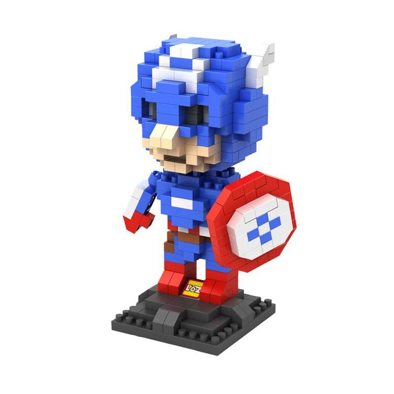 LOZ Gift Large 9452 Mainan Blok & Puzzle