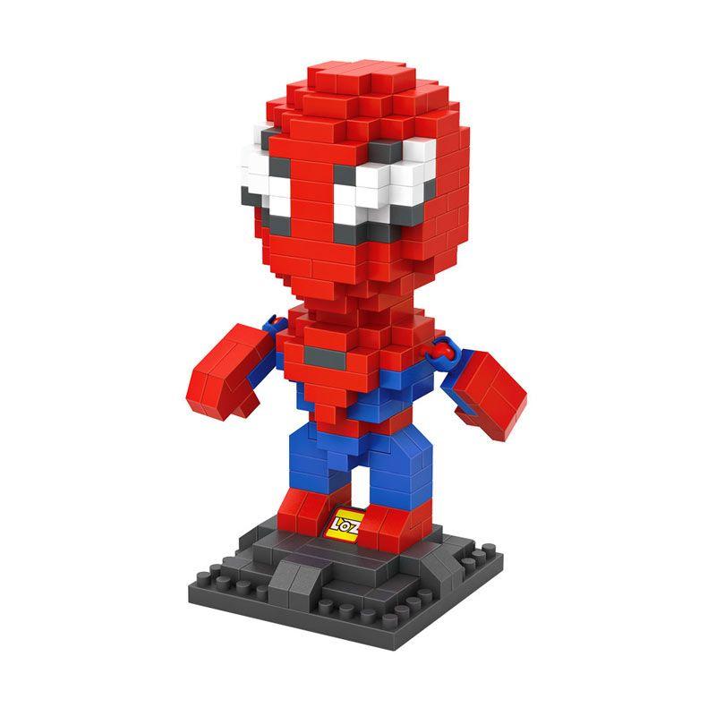 LOZ Gift Large 9456 Spiderman Mainan Blok & Puzzle