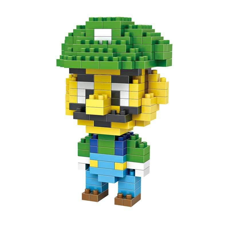 Loz Gift 9126 Mainan Blok dan Puzzle [Medium]