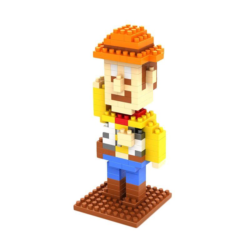 LOZ Gift Medium 9128 Woody Toys Story Mainan Blok & Puzzle
