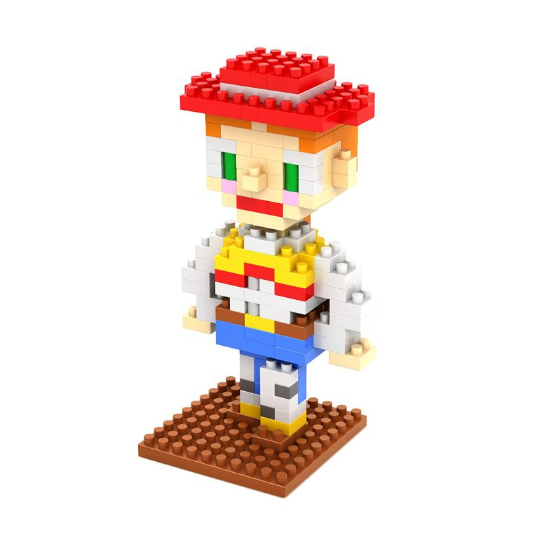 LOZ Gift Medium 9130  Mainan Blok & Puzzle