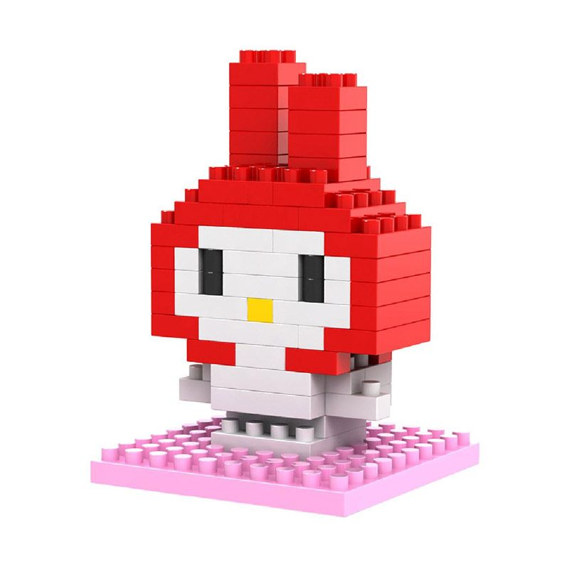 Loz Gift Small 9103 Melody Mainan Blok & Puzzle
