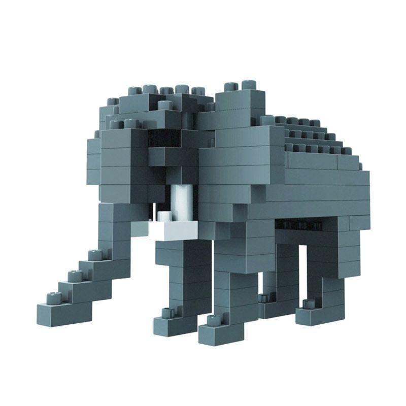 Loz Gift Small 9320 Elephant Mainan Blok & Puzzle