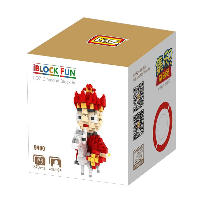 Loz Gift The Monk 9409 Mainan Blok dan Puzzle [Large]