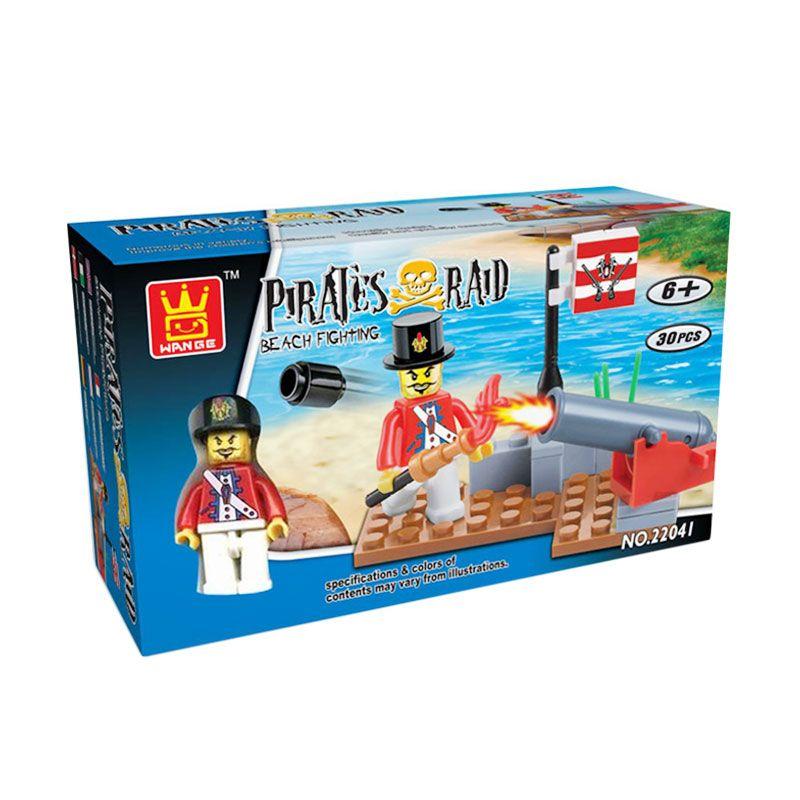 WANGE Pirates Raid 22041 Mainan Blok dan Puzzle