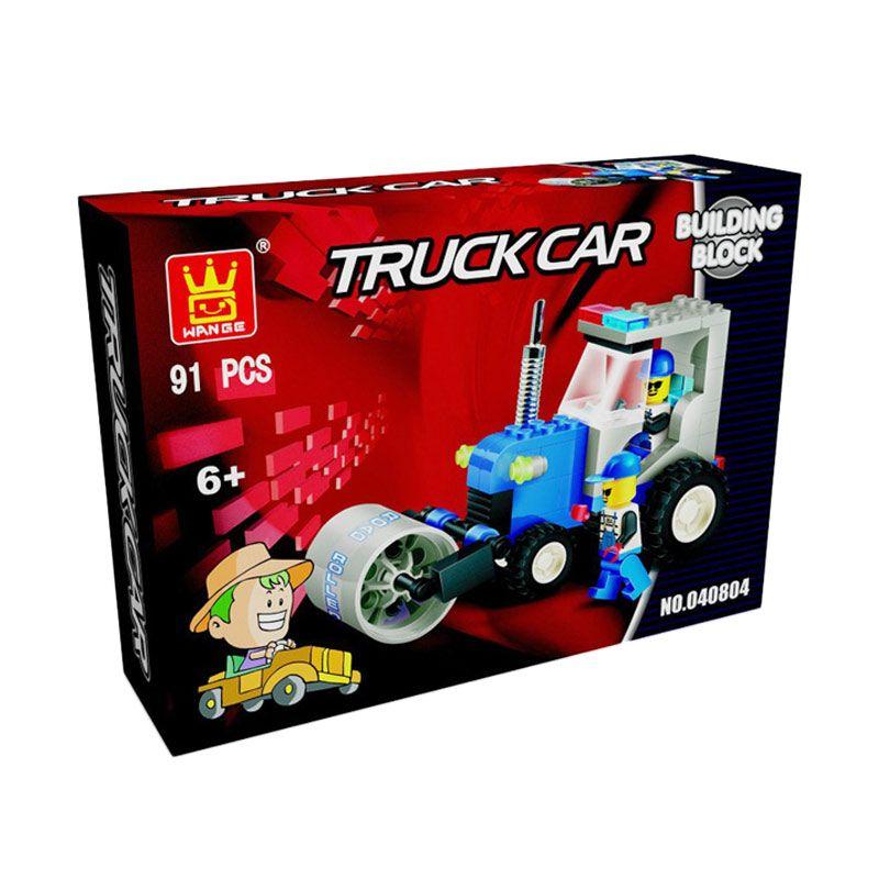 WANGE Truck Car 040804 Mainan Blok & Puzzle