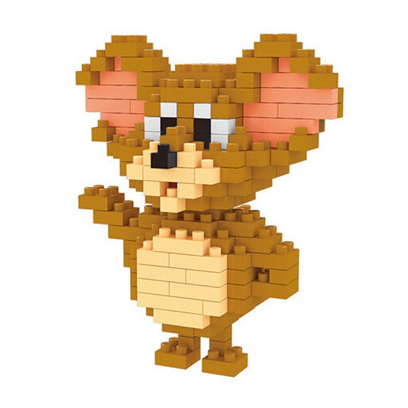 WEAGLE Mouse 2237 Mainan Blok & Puzzle