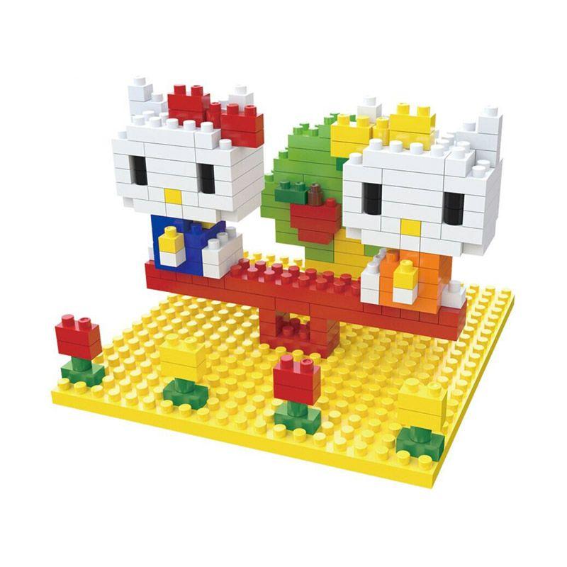 WEAGLE Kitty 2251 Mainan Blok & Puzzle