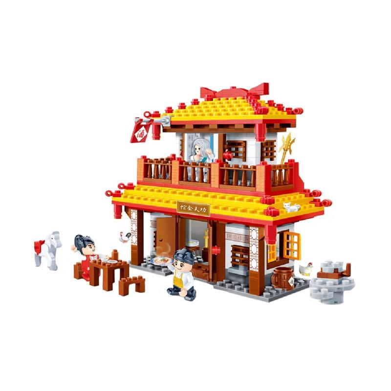 Funbrick Banbao 6607 Gong Fu Series Mainan Blok & Puzzle