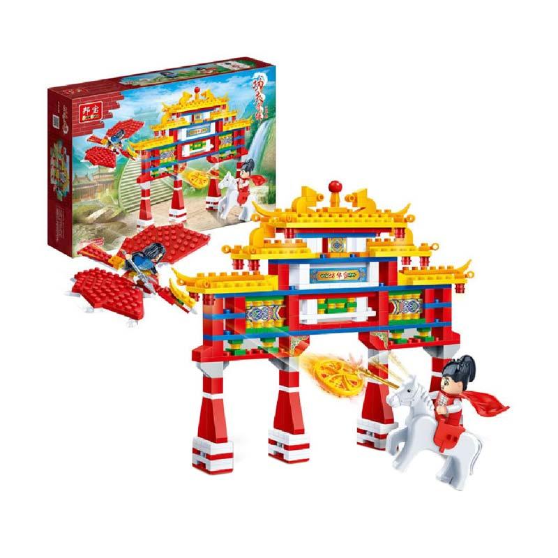 Funbrick Banbao 6608 Gong Fu Series Mainan Blok & Puzzle