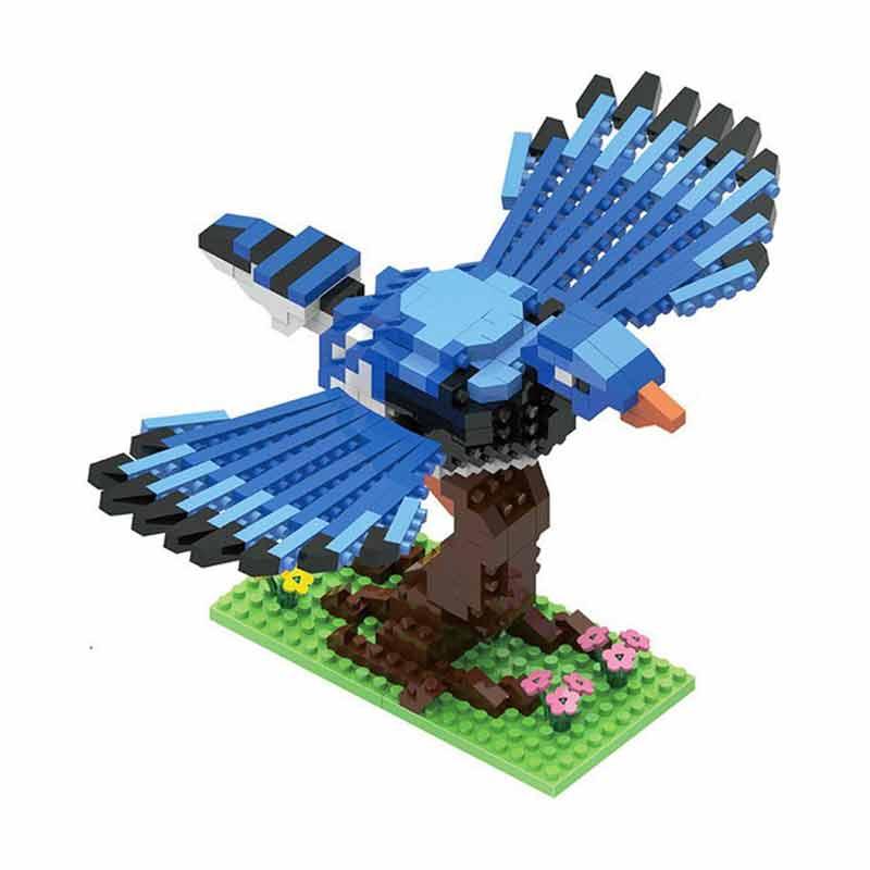 Funbrick Gem Bricks G824 2 Eagle Mainan Blok & Puzzle - Blue