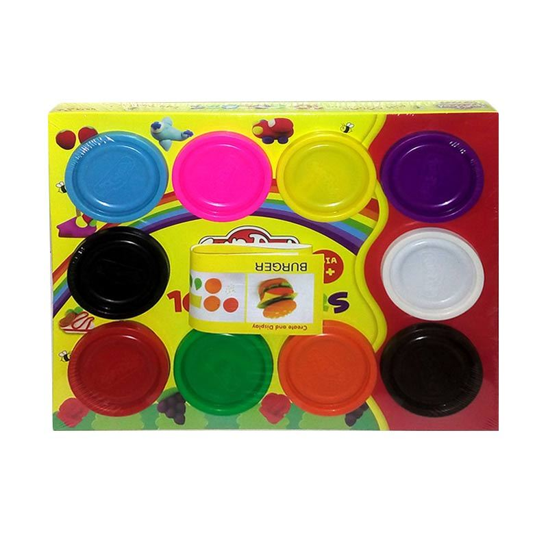 Fundoh  Lilin 10 Colors Mainan Anak