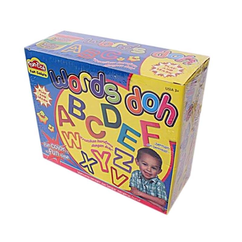 Fun Doh Words Alphabet Mainan Anak