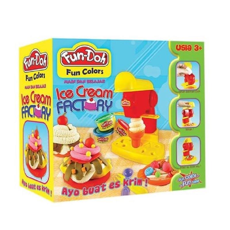 Fundoh Ice Cream Factory Mainan Anak