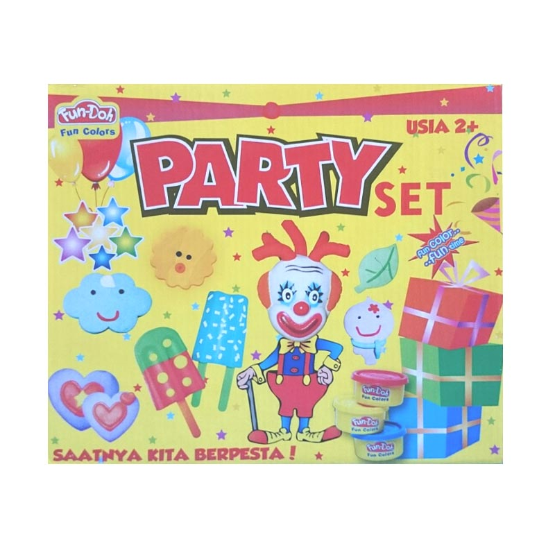 Fundoh Party Set Mainan Anak