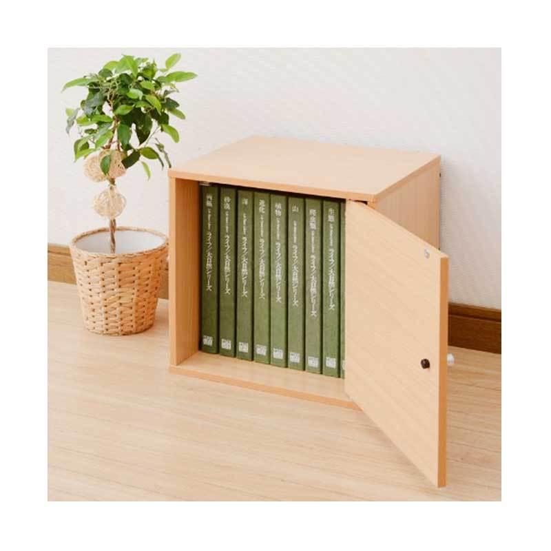 FUNIKA Kotak Penyimpanan dengan Pintu NT12142 BE