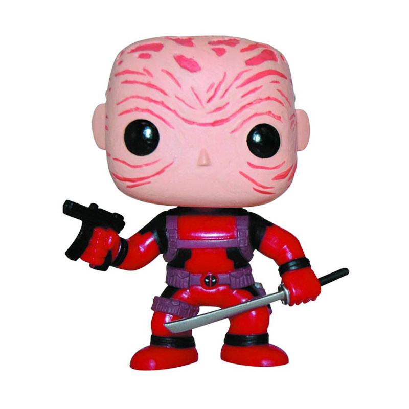 harga Funko Deadpool Maskless Red Suit POP! Vinyl 3259 Mainan Anak Blibli.com