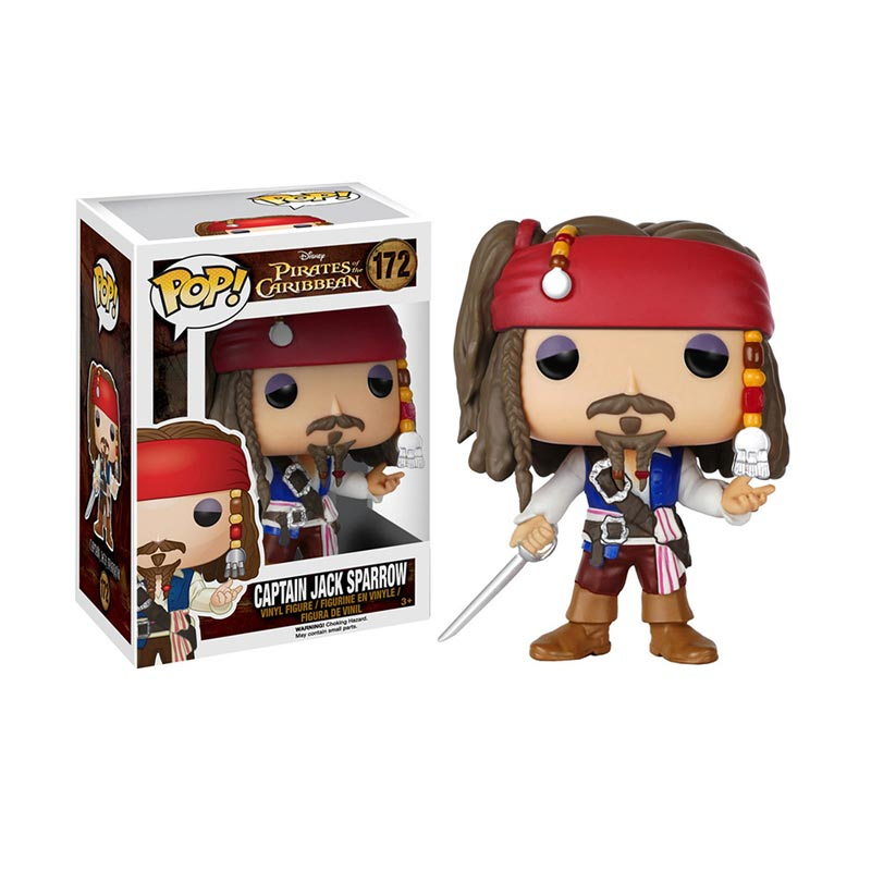 Funko POP! Pirates Of The Caribbean Jack Sparrow Vinyl 7105 Action Figure