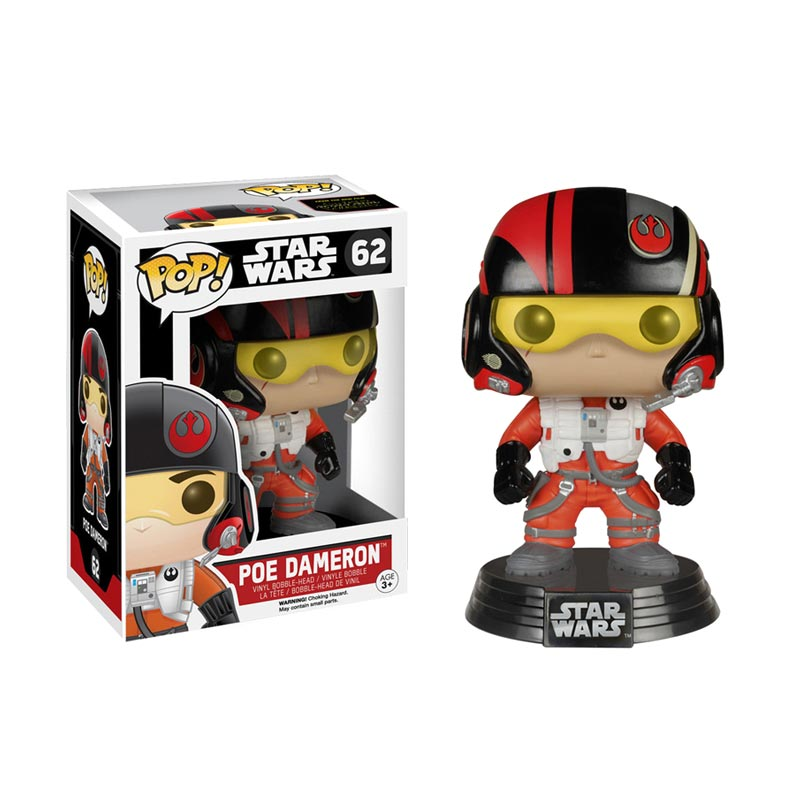 harga Funko Star Wars Poe Dameron POP! Vinyl 6222 Action Figure Blibli.com