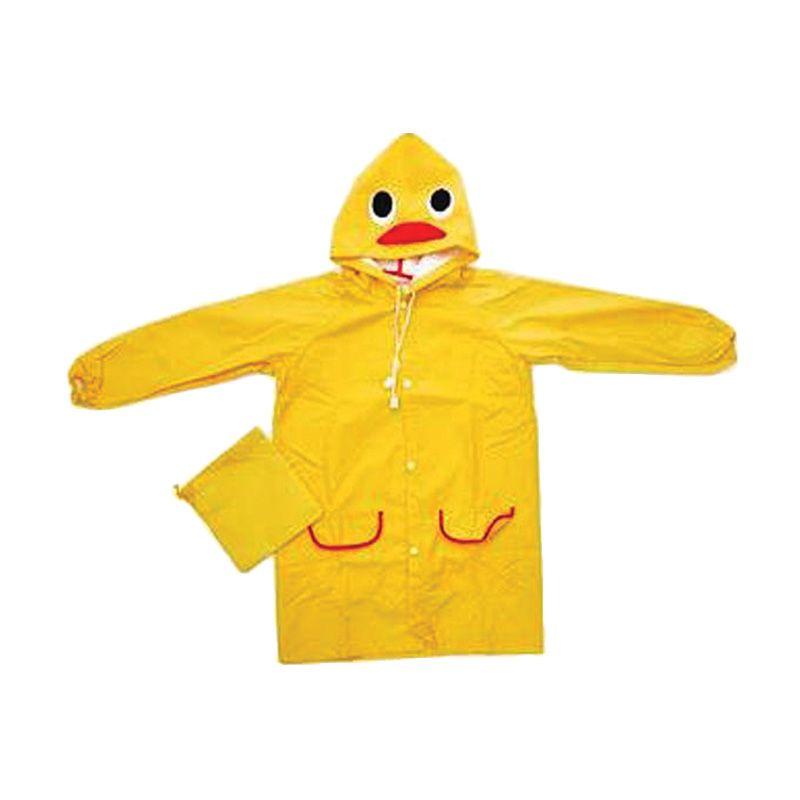Funny Rain Coat Duck Yellow