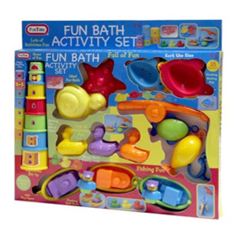 Funtime Fun Bath Activity Play Set 5317