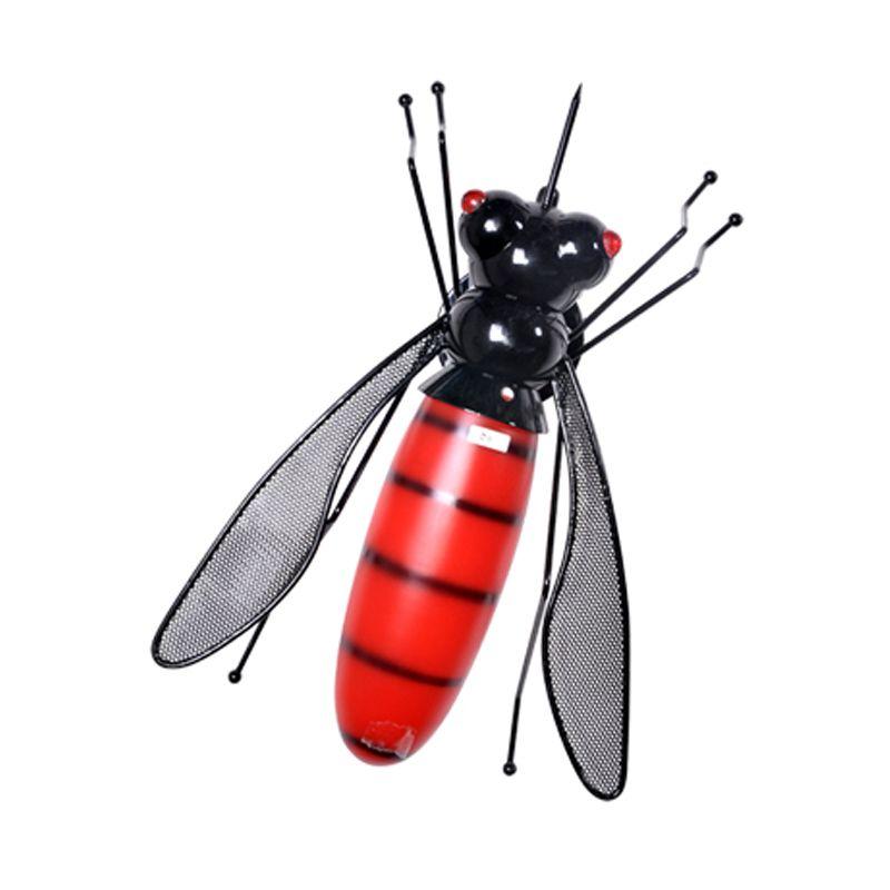 FURNIMART B811LED-S Red Black Wall Lamp Lampu Hias