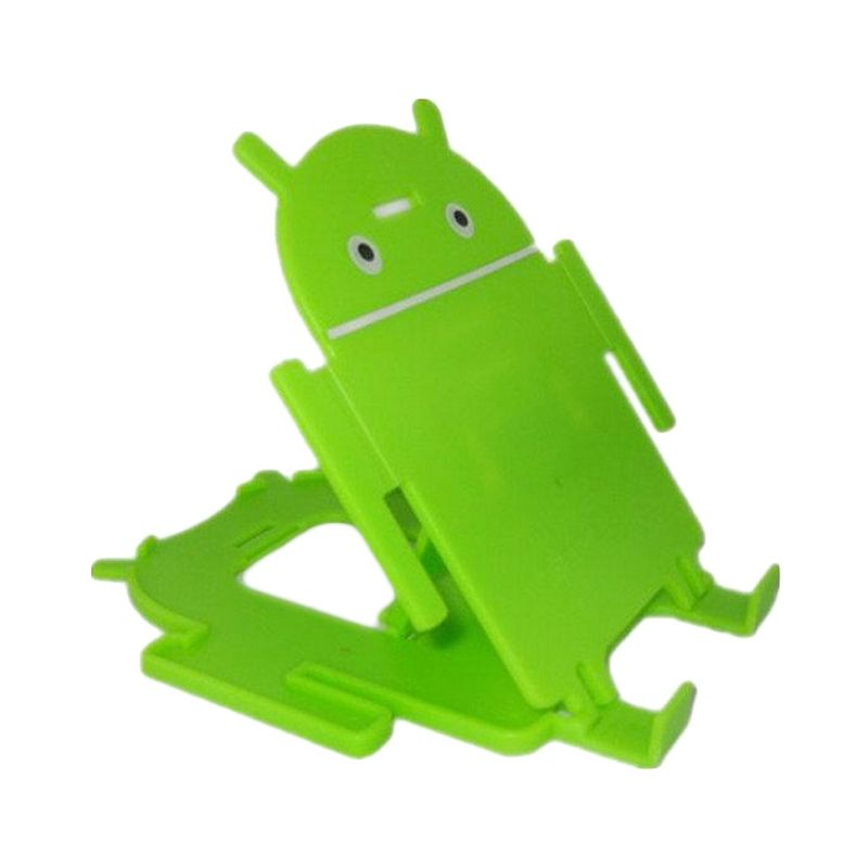 Android Green Holder Stand for Smartphone or Tablet