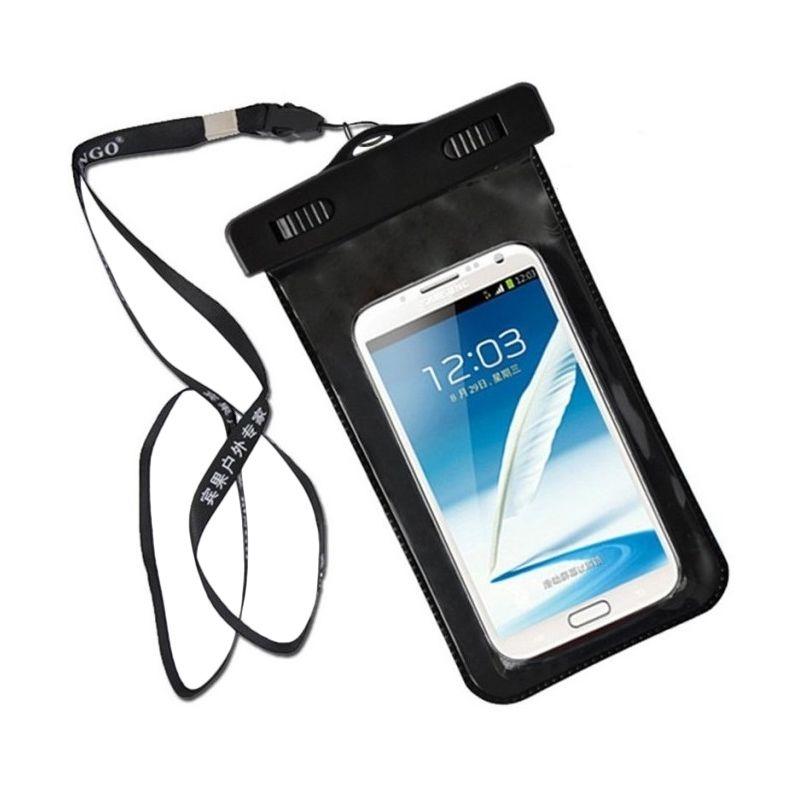 Angel Black Waterproof Bag Lock for Smartphone
