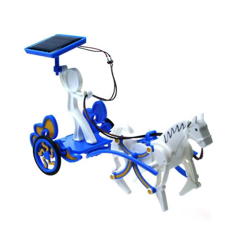 Solar Robot 3 in 1 Stallion Pegasus Horse Educational Kit Mainan Anak
