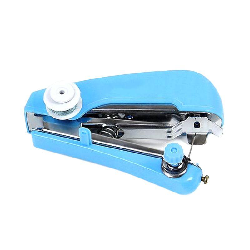 Spring Come Portable Biru Mesin Jahit Mini