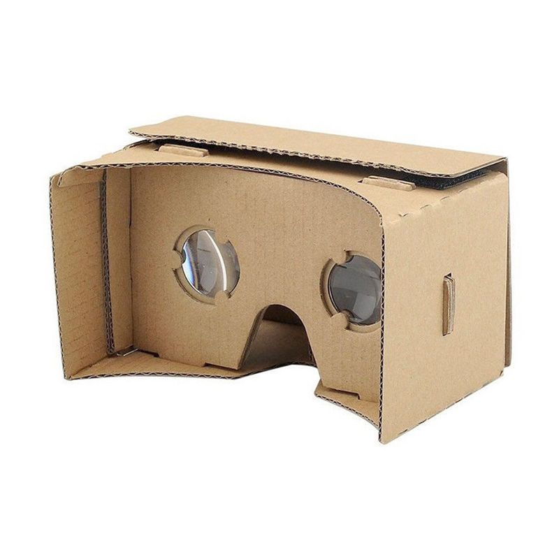 Cardboard Virtual Reality VR with NFC Sticker Google Reality 3D Glasses