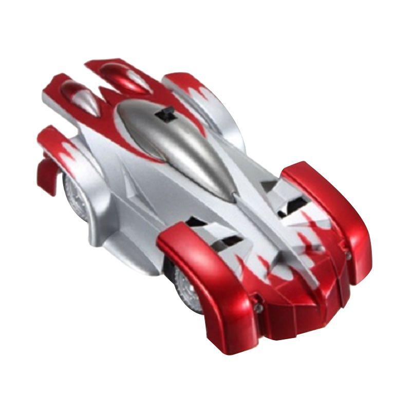 harga CCC Car Wall Climbing RC Mobil Merah Silver Mainan Remote Control Blibli.com