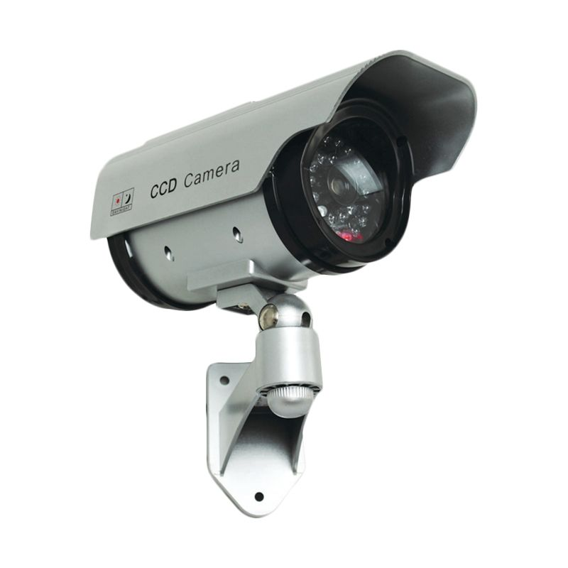 harga CCD Camera Fake Dummy Solar Power Security Kamera CCTV Blibli.com