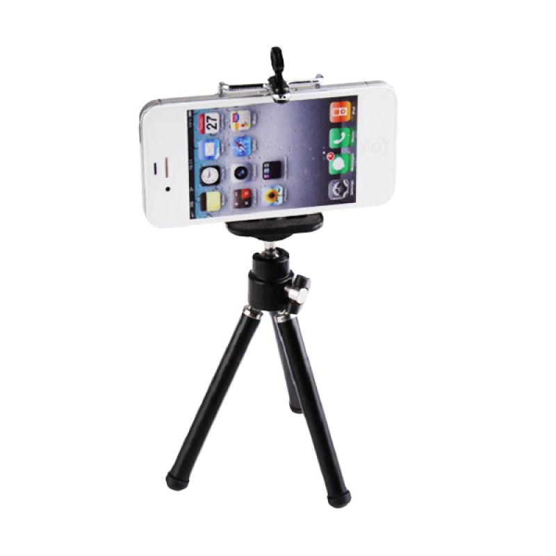 Weekend Deal - CCC Hitam Smartphone Mini Tripod with Holder U