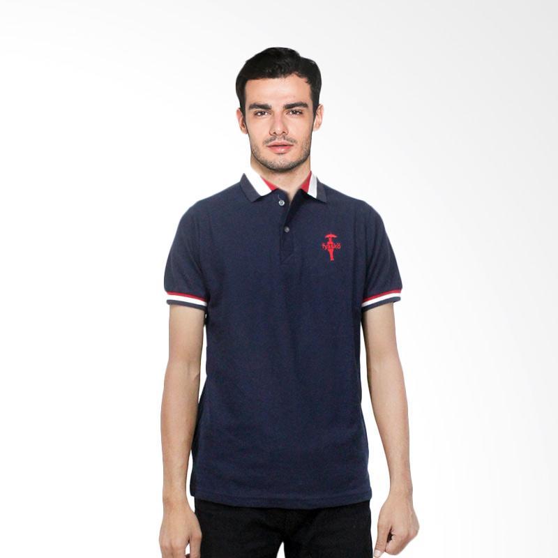 Fyasko Wangki RGB Man Polo Shirt - Navy Extra diskon 7% setiap hari Extra diskon 5% setiap hari Citibank – lebih hemat 10%