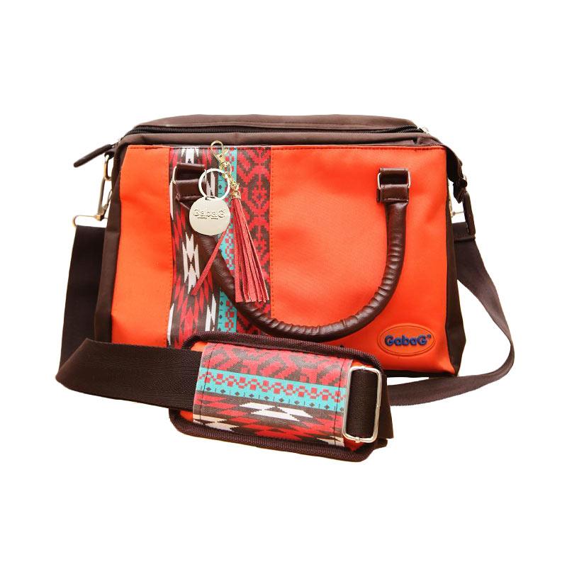 harga Gabag Ylona Orange Cooler Thermal Bag with 2 Ice Gel Tas Bayi ASIP Pompa ASI Blibli.com