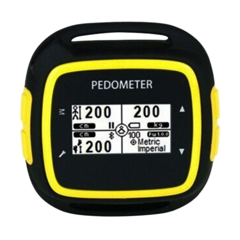 Egoman Bluetooth Fitness Activity PD198 Black Yellow Smart Watch