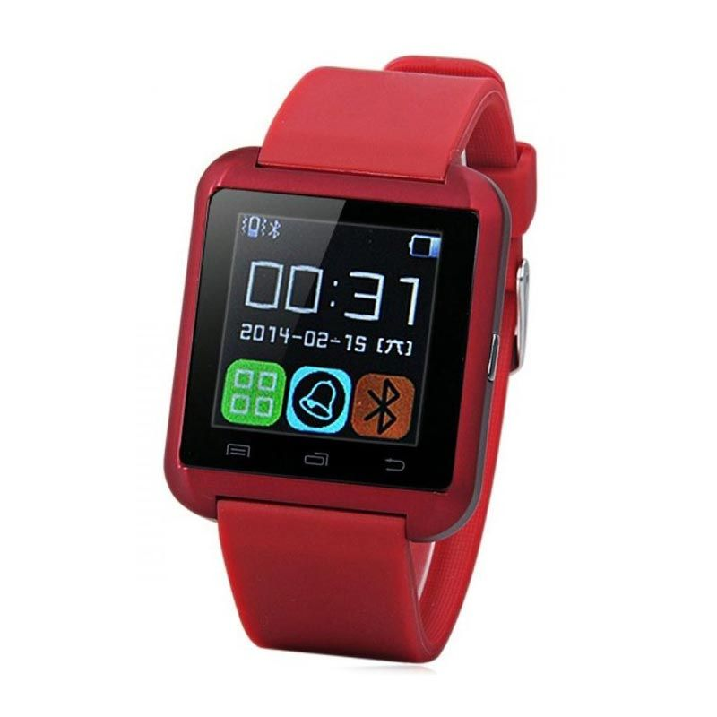 Onix U Watch U8 Red Smart Watch
