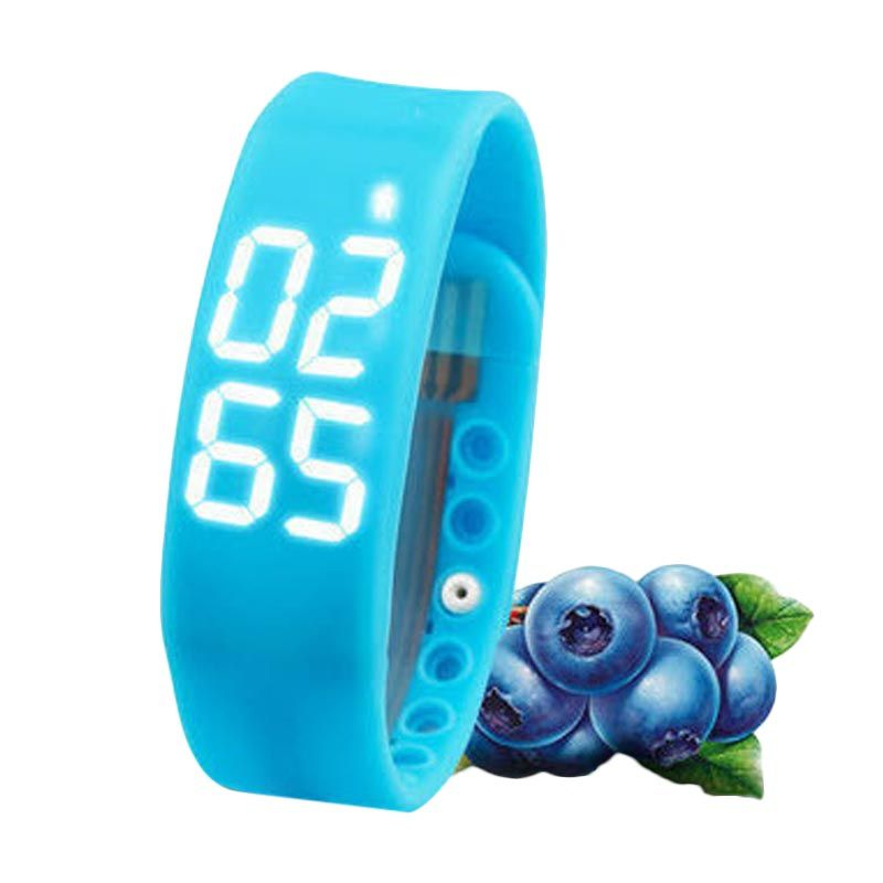 Onix W2 LED Blue Smart Watch